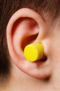 earplugs.