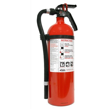 fire extinguisher.