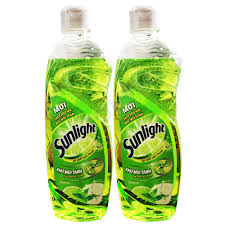 dishwashing liquid.