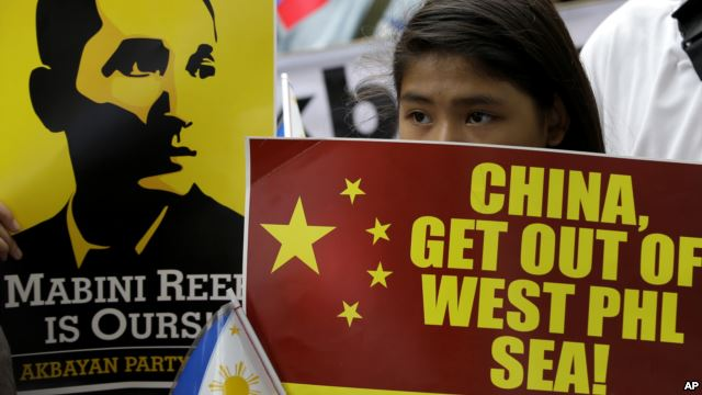 Sea dispute tests Philippines' ties with China