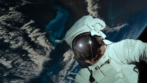 The first space walk