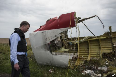 Malaysian Airliner Shot Down by Missile in Ukraine